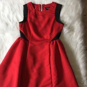 Prabal Gurung black/red dress size 2